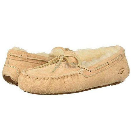 5/8/9码有货~UGG Dakota 毛绒平底鞋 .98(约337元) - 海淘优惠海淘折扣|55海淘网