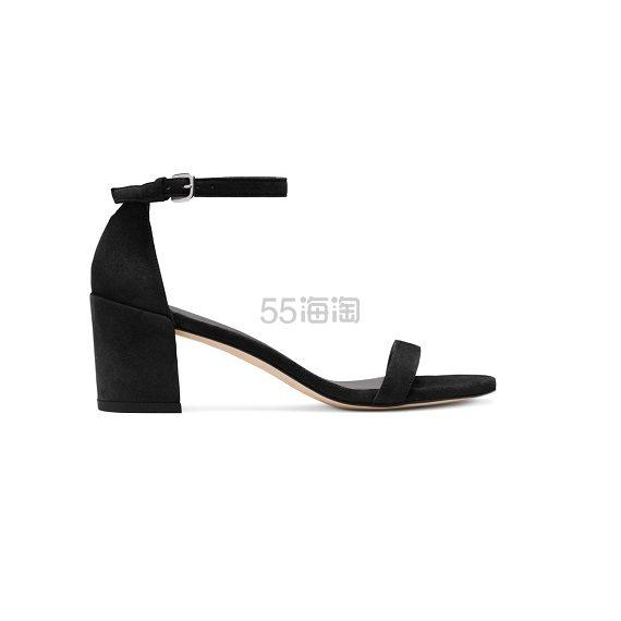 Stuart Weitzman 黑色一字带中跟鞋 8.5(约2,011元) - 海淘优惠海淘折扣|55海淘网