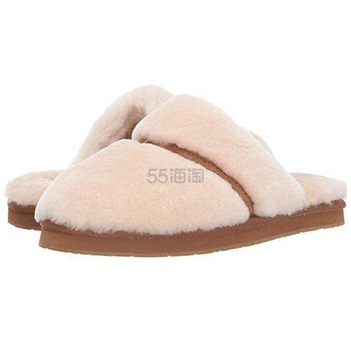 UGG Dalla 女士毛绒拖鞋 .06(约390元) - 海淘优惠海淘折扣|55海淘网