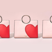 春季特惠!Kate Spade New York Heart It Sam 爱心手提包