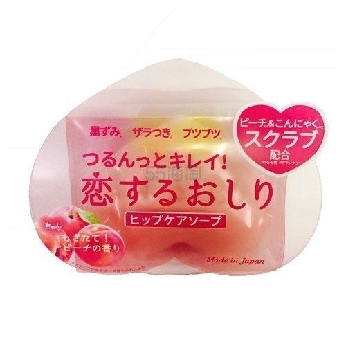 【超低价】Pelican 心形美臀皂 蜜桃香 80g ¥29 - 海淘优惠海淘折扣 55海淘网