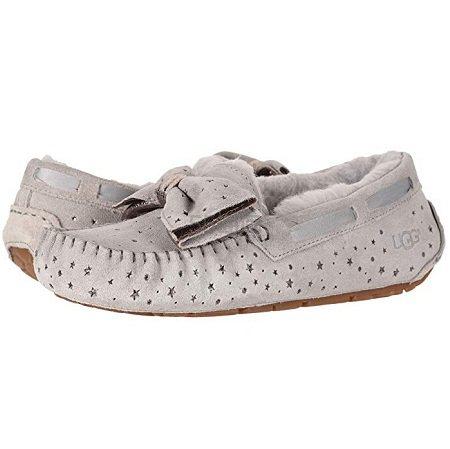 UGG Dakota Stargirl Slipper 毛绒平底鞋 .99(约612元) - 海淘优惠海淘折扣 55海淘网