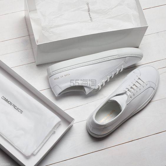 Common Projects 经典基础女士小白鞋 9.99(约2,150元) - 海淘优惠海淘折扣|55海淘网