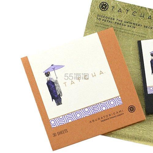 【满额最高送3支mini口红】Tatcha 金箔吸油纸 30片*4 (约277元) - 海淘优惠海淘折扣|55海淘网