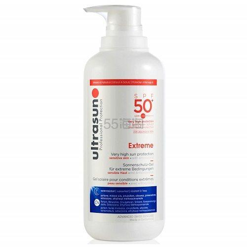7折!Ultrasun 优佳 瑞士国宝级防晒乳 高倍数SPF 50+ 大瓶装400ml £35(约318元) - 海淘优惠海淘折扣|55海淘网