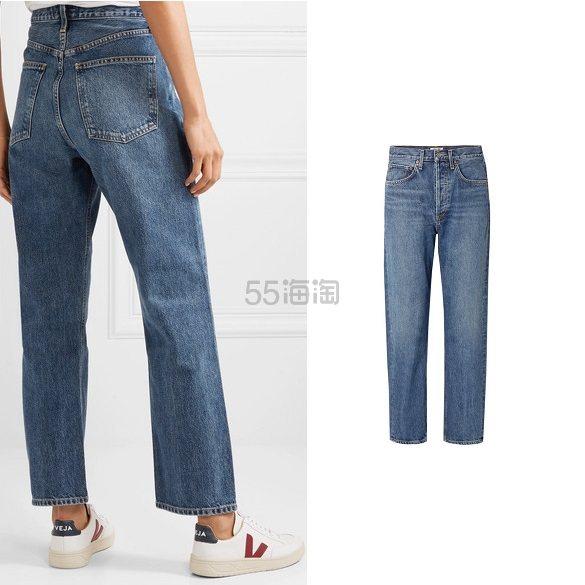 AGOLDE 90s 中腰直筒牛仔裤 8(约1,262元) - 海淘优惠海淘折扣|55海淘网