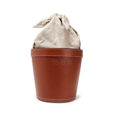 低至5折!STAUD 帆布皮革拼接盆栽包 2(约1,087元) - 海淘优惠海淘折扣|55海淘网