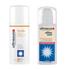 6.7折!Ultrasun 优佳 敏感皮肤使用 面部SPF30倍 防晒霜+晒后修护霜