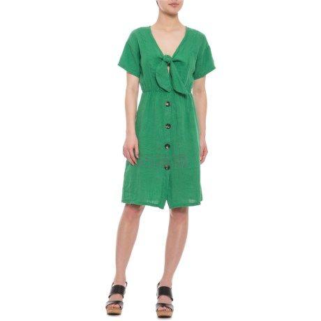 码全!Marina Gigli 女士短袖连衣裙 .99(约201元) - 海淘优惠海淘折扣|55海淘网