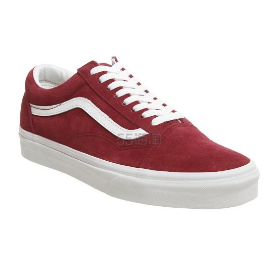 Vans Old Skool 经典款红色板鞋 (约396元) - 海淘优惠海淘折扣|55海淘网