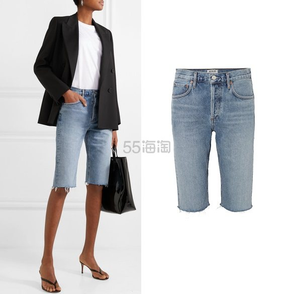 AGOLDE Carrie 牛仔短裤 8(约927元) - 海淘优惠海淘折扣|55海淘网