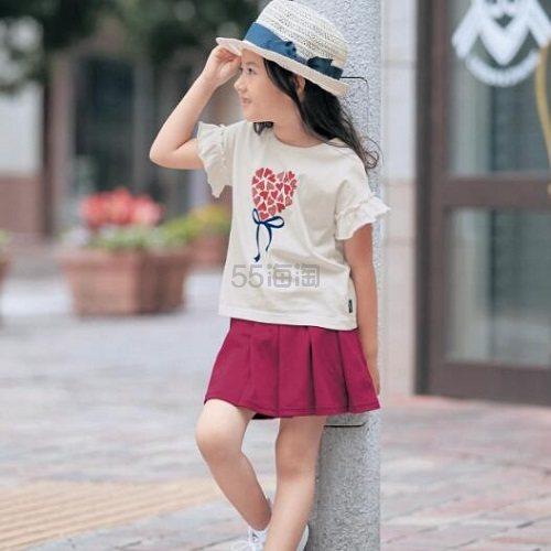 GITA 夏季儿童小飞袖短袖 多款可选 990日元(约60元) - 海淘优惠海淘折扣|55海淘网