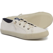 Sperry Lounge LTT Pastel 女士帆布小白鞋