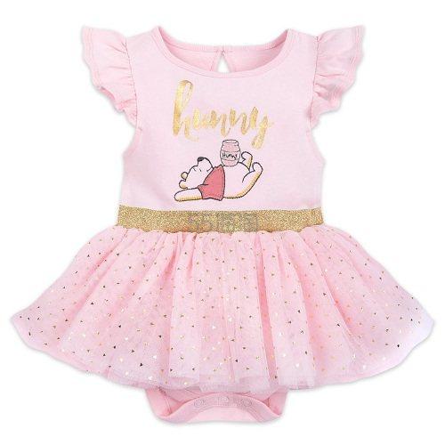 7折!Disney 迪士尼 小熊维尼 粉色婴儿连体衣小裙子 .96(约94元) - 海淘优惠海淘折扣 55海淘网