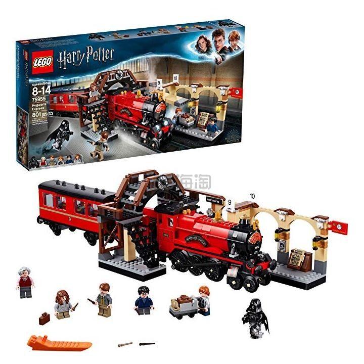 免邮!LEGO 乐高哈利波特系列 霍格沃茨特快列车(75955)
