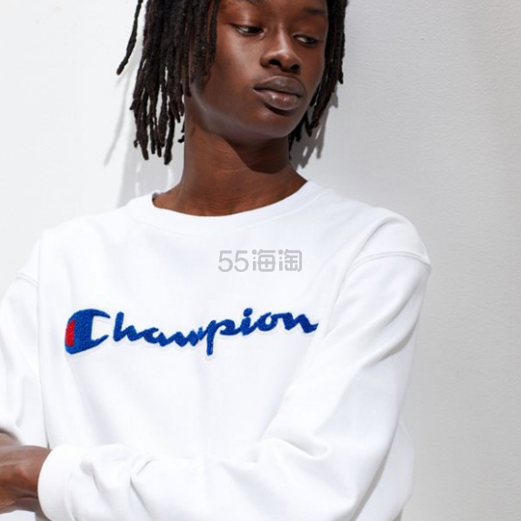 Champion Reverse Weave Chenille 套头卫衣 .5(约198元) - 海淘优惠海淘折扣|55海淘网