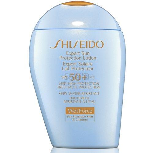 Shiseido 资生堂 新艳阳防晒霜 浅蓝胖子 温和敏感肌/儿童可用 100ml