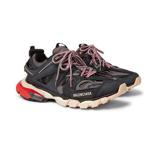 BALENCIAGA 黑灰 Track 老爹鞋 £615(约5,388元) - 海淘优惠海淘折扣|55海淘网