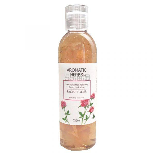 【单件包邮】Aromatic Herbs 玫瑰精华水 250ml