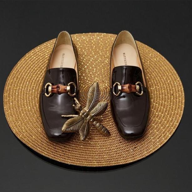 MARYRINGO 女士复古漆皮乐福鞋 ¥1,567 - 海淘优惠海淘折扣|55海淘网