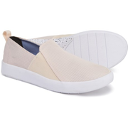 Keds Studio Liv Diamond Mesh 女士一脚蹬帆布鞋