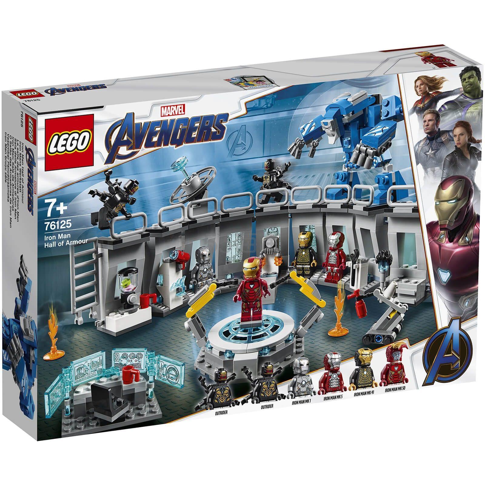 免邮中国!LEGO 乐高新品 超级英雄系列 钢铁侠机甲陈列室 (76125) £43.99(约385元) - 海淘优惠海淘折扣|55海淘网