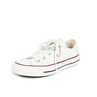 Converse All Star 70s 女士白色帆布鞋 (约539元) - 海淘优惠海淘折扣|55海淘网