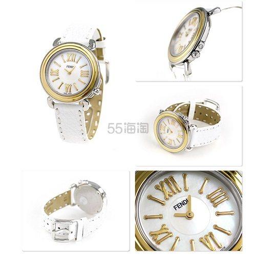 Fendi 芬迪 Selleria 系列 女士时装腕表 F8011345H0.PS04 9(约2,013元) - 海淘优惠海淘折扣|55海淘网