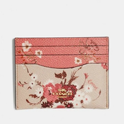 Coach Card Case With Mixed Floral Print 小碎花卡包