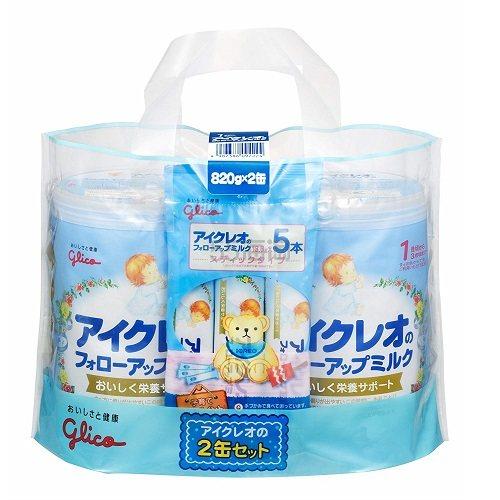 【日亚自营】固力果 二段婴幼儿奶粉 820g*2 送13.6g*5小袋