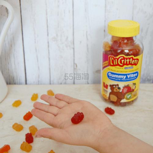 【第2件半价+10倍积分】Lil Critters 儿童复合维生素小熊软糖 190粒 .74(约86元) - 海淘优惠海淘折扣 55海淘网
