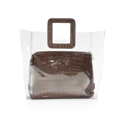 Staud Shirley Croc-Embossed PVC托特包 0.25(约763元) - 海淘优惠海淘折扣|55海淘网