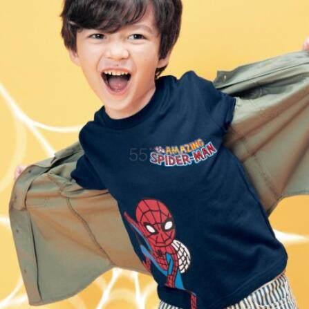 Disney 迪士尼 漫威复仇者联盟角色 长袖T恤