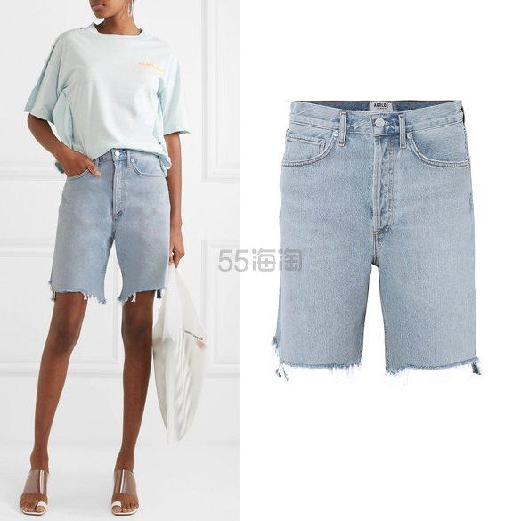 AGOLDE 90s 仿旧牛仔短裤 £180(约1,598元) - 海淘优惠海淘折扣 55海淘网