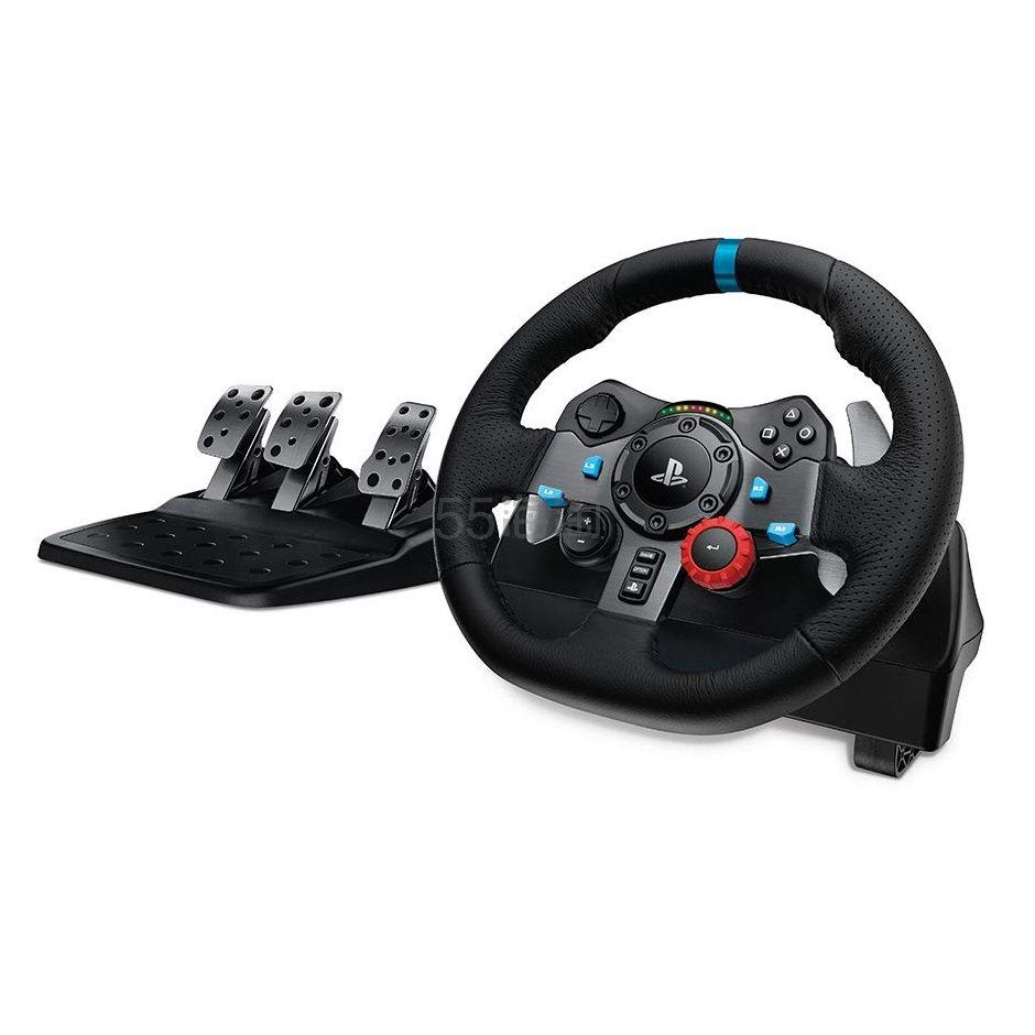 【中亚Prime会员】Logitech 罗技 G29 力反馈赛车游戏方向盘