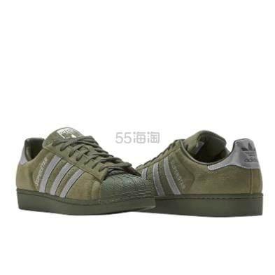 adidas Originals 三叶草 Superstar 男款麂皮板鞋 .96(约344元) - 海淘优惠海淘折扣|55海淘网