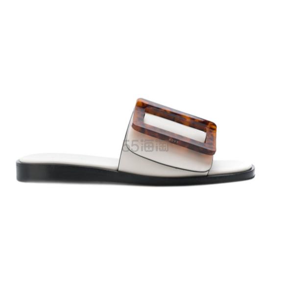 BOYY LEATHER 方扣拖鞋 5(约2,234元) - 海淘优惠海淘折扣|55海淘网