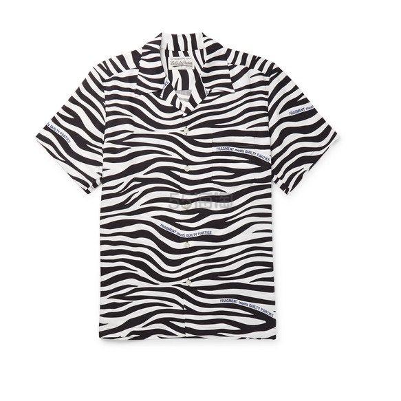 WACKO MARIA X Fragment 斑马纹短袖衬衫 £310(约2,730元) - 海淘优惠海淘折扣 55海淘网