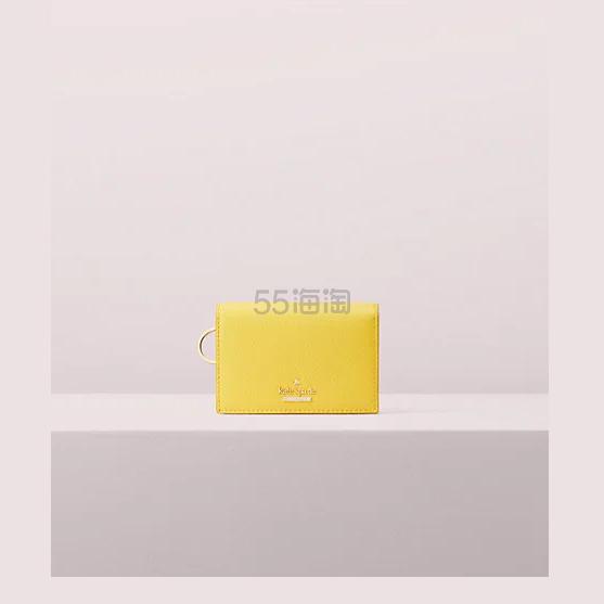 kate spade 黄色卡包 .3(约334元) - 海淘优惠海淘折扣|55海淘网