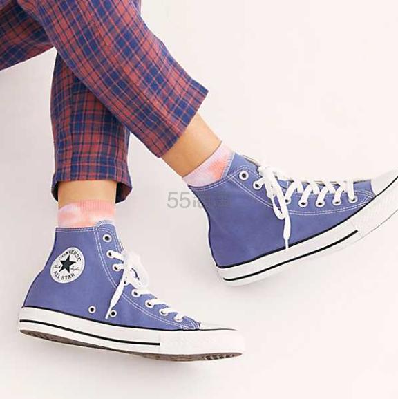 【一双免邮】Converse 高帮帆布运动鞋 多色可选 ¥450 - 海淘优惠海淘折扣|55海淘网