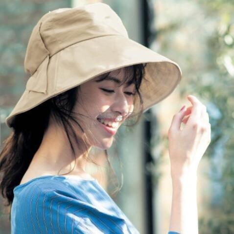 Belle Maison 可折叠可调头围可遮脖子防水防晒遮阳帽 3色 3,990日元(约251元) - 海淘优惠海淘折扣|55海淘网