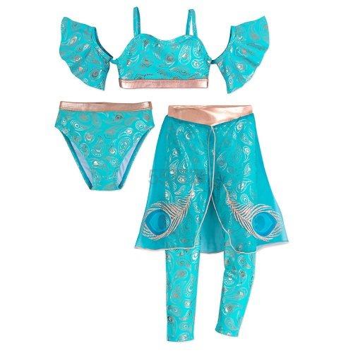 好价!Disney 迪士尼 阿拉丁神灯 茉莉公主女孩泳衣套装 .99(约152元) - 海淘优惠海淘折扣|55海淘网