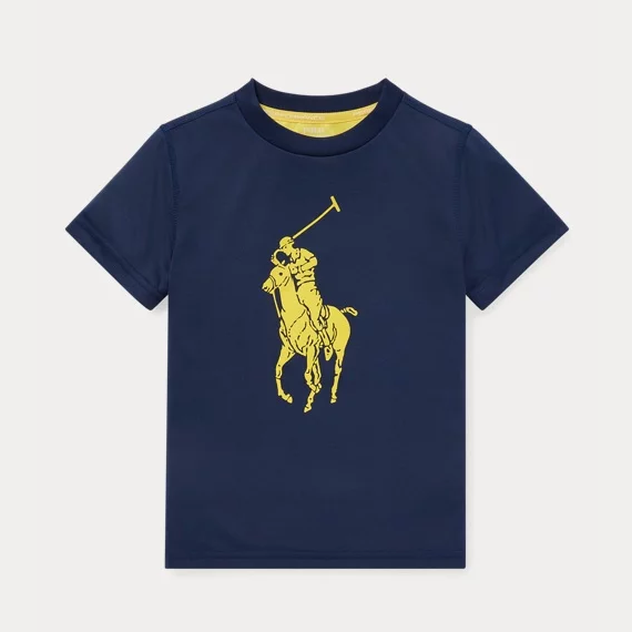 低至4.4折!Ralph Lauren Performance Jersey 男童T恤
