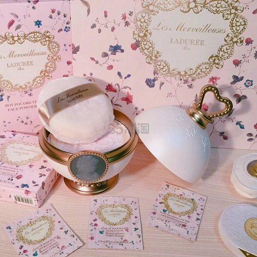 【2件包税免邮中国】Les Merveilleuses LADURÉE 贵族丝缎蕾丝散粉 N02