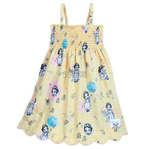 6折!Disney 迪士尼 白雪公主吊带连衣裙 .99(约103元) - 海淘优惠海淘折扣 55海淘网