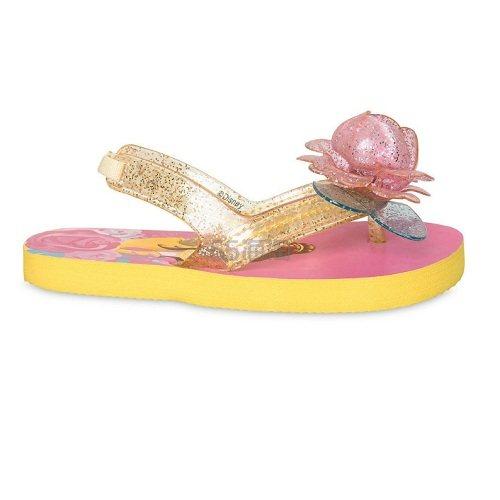 好价!一鞋两穿!Disney 迪士尼 贝儿公主儿童凉拖 .99(约34元) - 海淘优惠海淘折扣|55海淘网