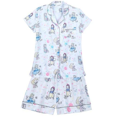 6.7折!Disney 迪士尼 白雪公主 女士短袖睡衣套装 .99(约138元) - 海淘优惠海淘折扣|55海淘网