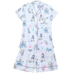 6.7折!Disney 迪士尼 白雪公主 女士短袖睡衣套装