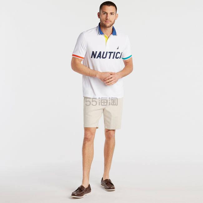 Nautica 撞色袖口 Polo 短袖T恤 .63(约412元) - 海淘优惠海淘折扣|55海淘网