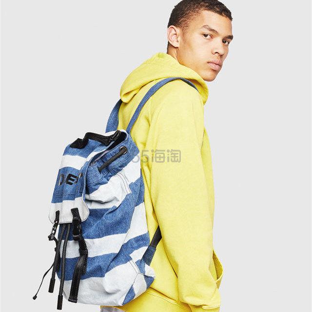 Diesel 男士牛仔条纹双肩背包 8.6(约958元) - 海淘优惠海淘折扣|55海淘网